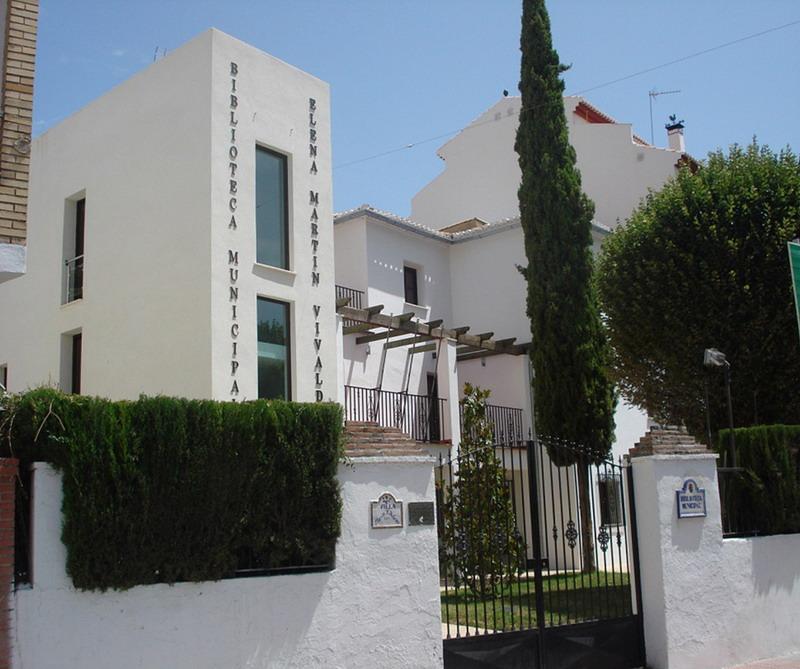 Ayuntamiento | Servicios Municipales | Biblioteca Municipal 'Elena Martín Vivaldi' | Cenes de la Vega