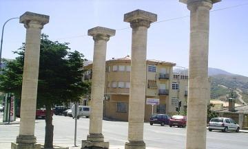 Turismo | Lugares de Interés | Columnas Entrada | Cenes de la Vega