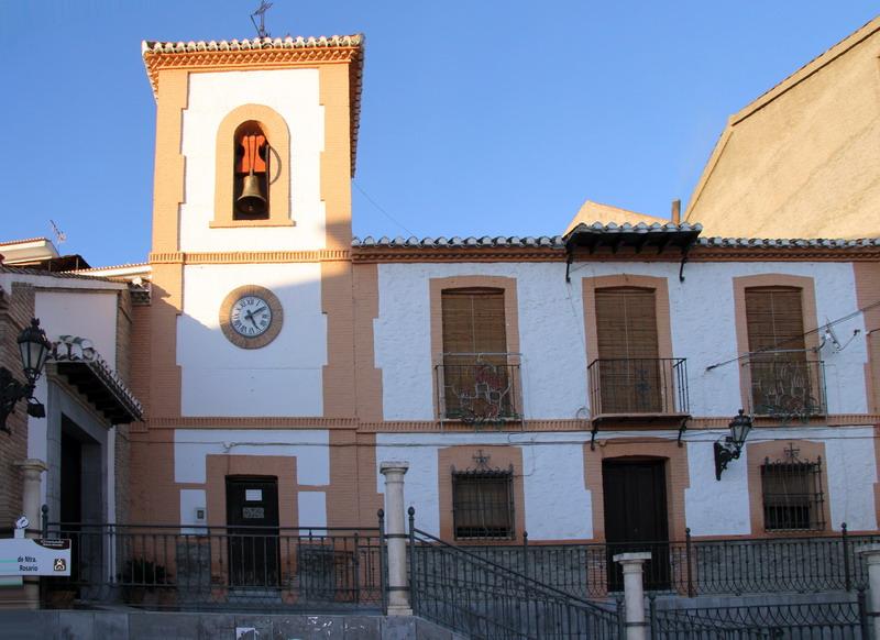 Turismo | Lugares de Interés | Iglesia Virgen del Rosario | Cenes de la Vega