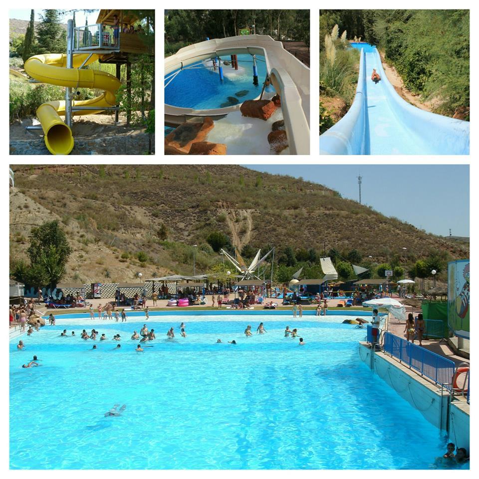 Turismo | Lugares de Interés | Parque Acuático Aquaola | Cenes de la Vega