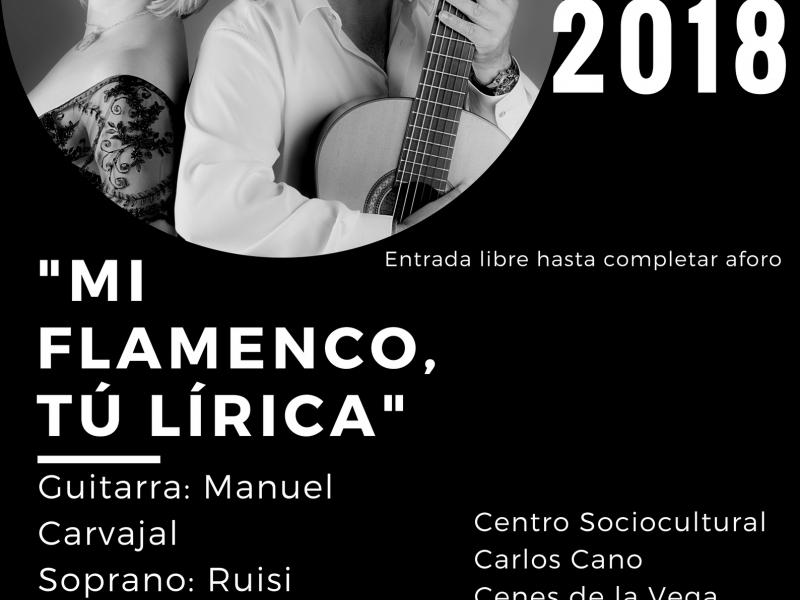 Mi flamenco, tú lírica