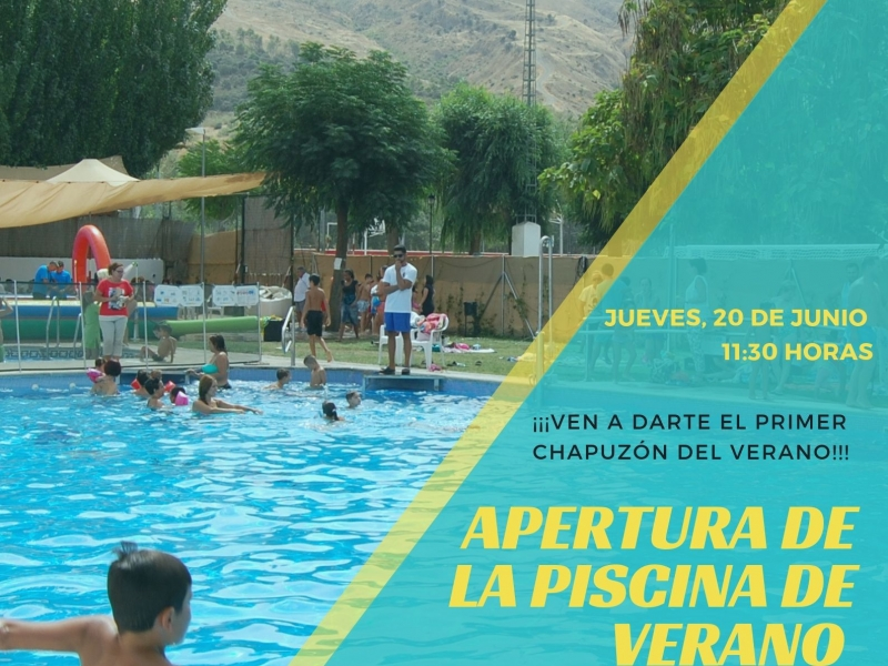 Apertura piscina 2019