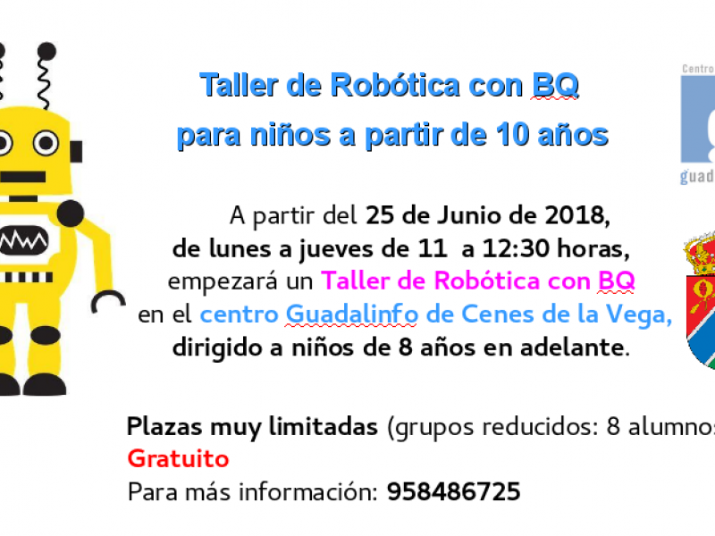 Cartel Robotica Verano 2018