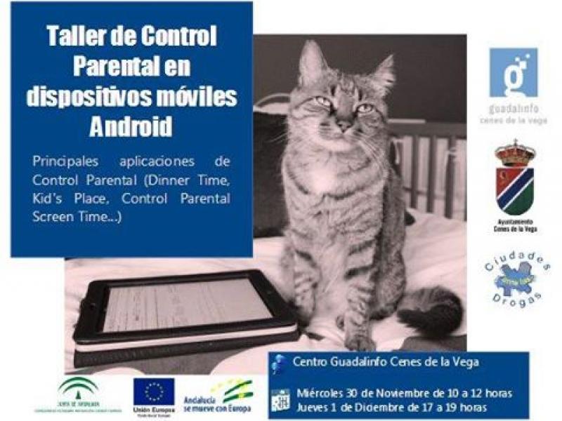 Taller de Control Parental en dispositivos móviles Android