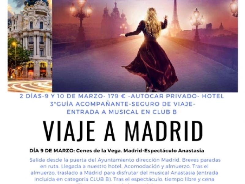Viaje cultural a Madrid