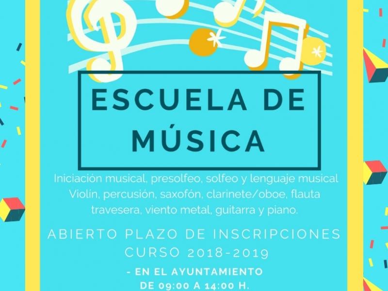 Cartel Escuela de Música