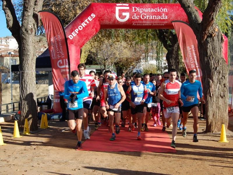 Más de 150 corredores cierran en Cenes de la Vega el circuito de carreras de montaña de la Diputación de Granada