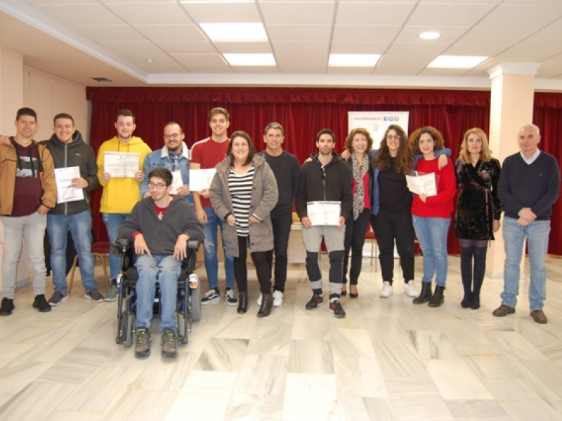 Clausura curso GRANADAEMPLEO JOVEN