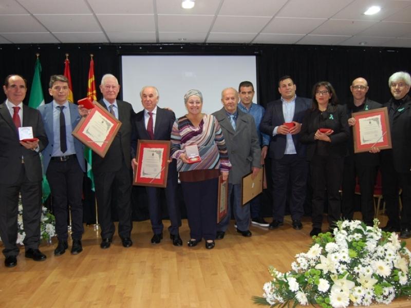 Medallas de Oro de Cenes de la Vega 2018