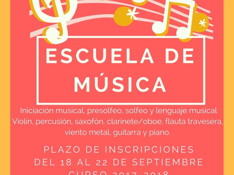 Escuela de Música de Cenes de la Vega 2017-2018