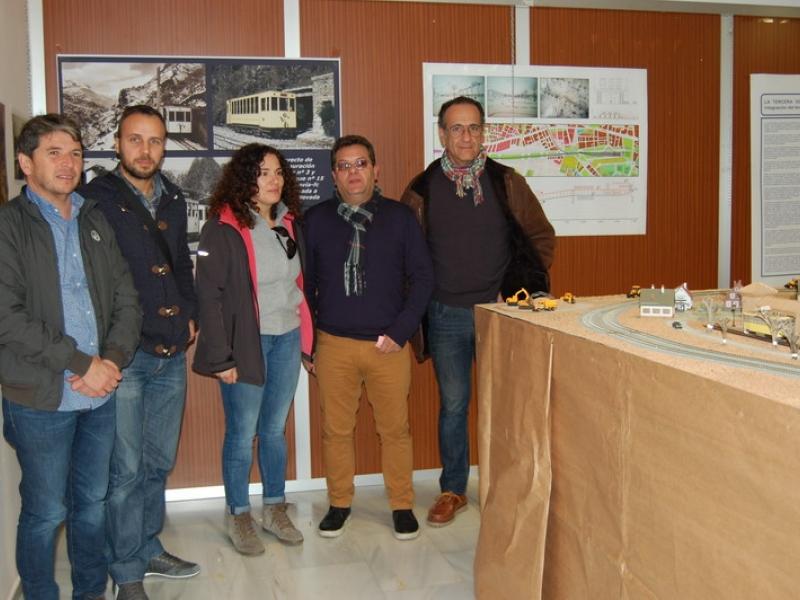 Cenes de la Vega acoge una exposición sobre el Tranvía de Sierra Nevada
