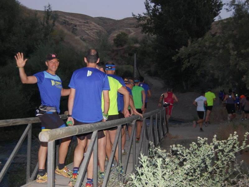 La Noche de Trail Running de San Juan reúne en Cenes de la Vega a más de 400 participantes de todas las edades