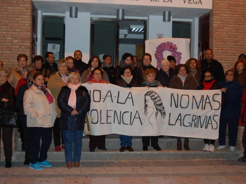 Cenes de la Vega dice no a la violencia de género
