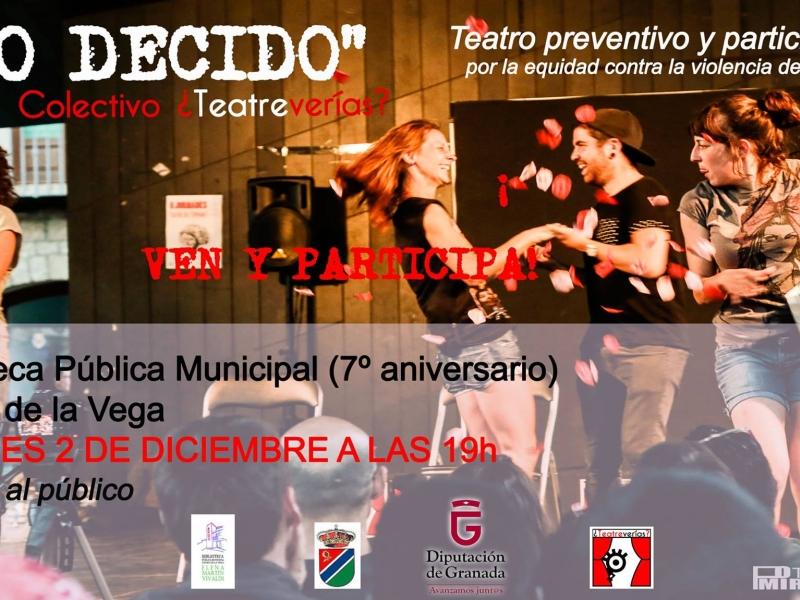 Teatro preventivo y participativo 'Yo decido'