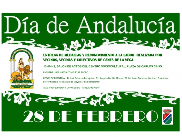 Cartel Día de Andalucía