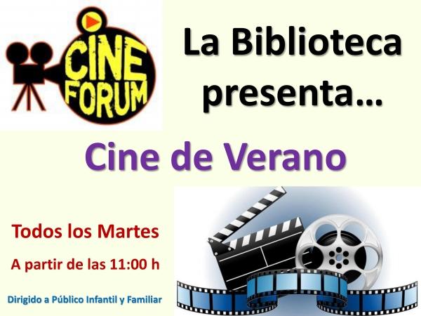 Cine verano Biblioteca