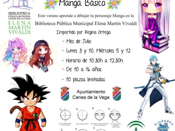 TALLER DE MANGA BÁSICO