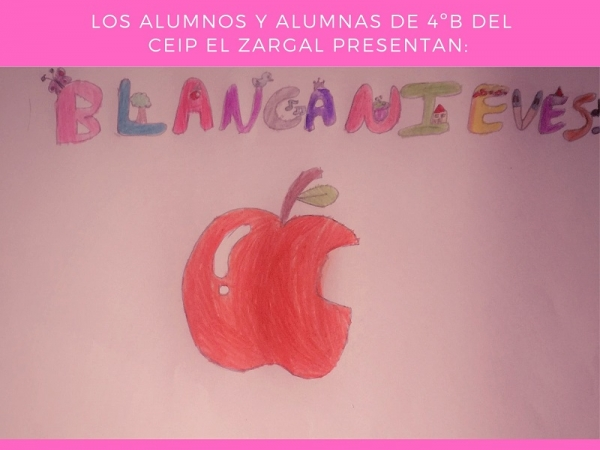 Cartel Teatro Escolar Día del Libro
