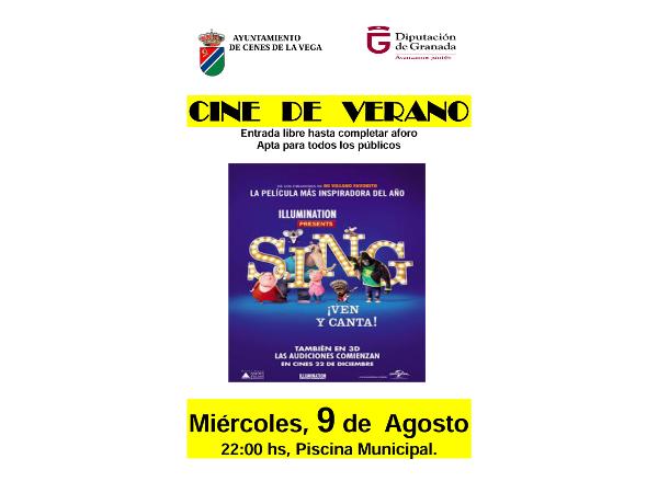 cine verano 9_08_2017 Ven y canta.png