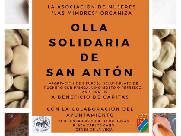 Olla Solidaria de San Antón 2018