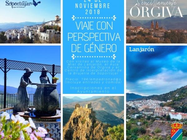 Viaje a Lanjarón, Órgiva y Soportújar