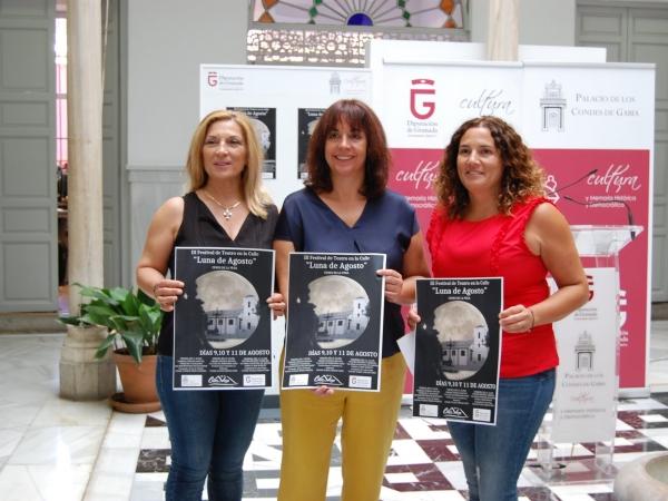 Presentación del Festival en la sede de Cultura de la Diputación de Granada