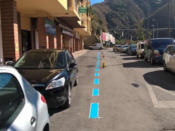Zona estacionamiento en Avenida de Sierra Nevada