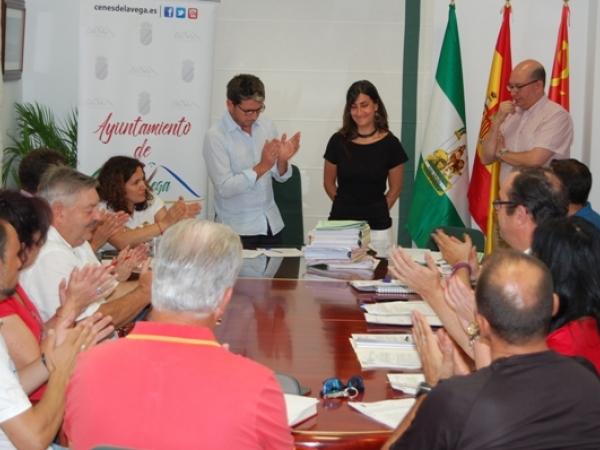 Toma posesión acta concejal María Amalia Palacios