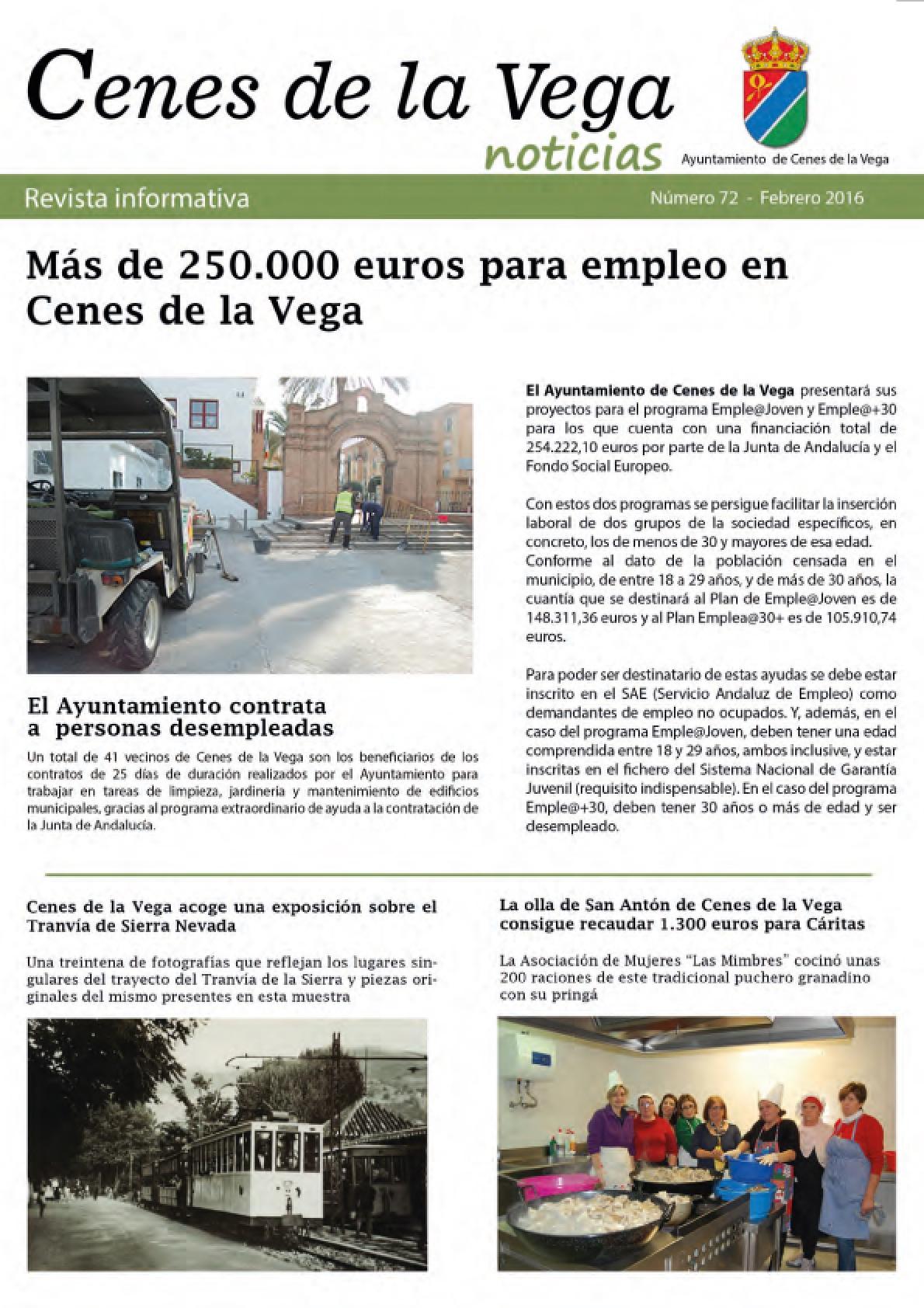 Revista Informativa Municipal 'La Pita' | Febrero 2016
