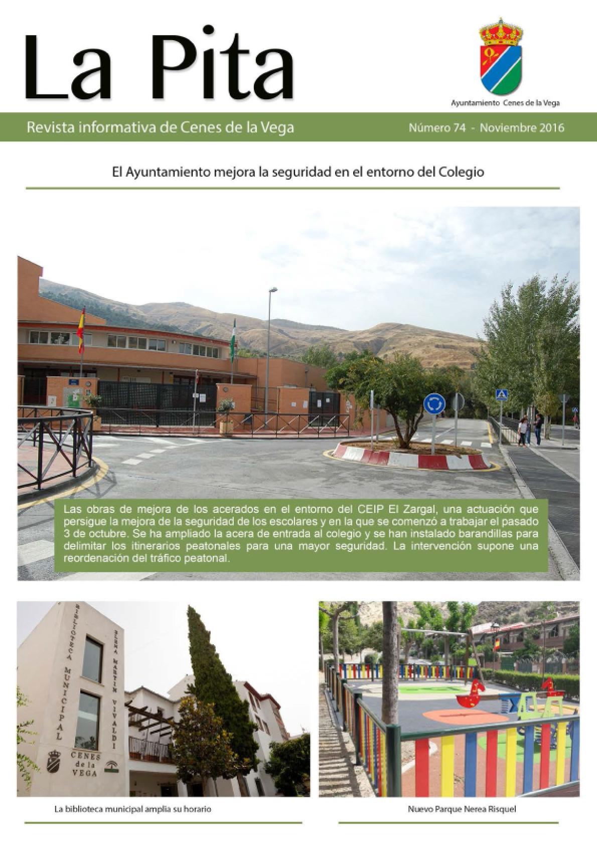 Revista Informativa Municipal 'La Pita' | Noviembre 2016